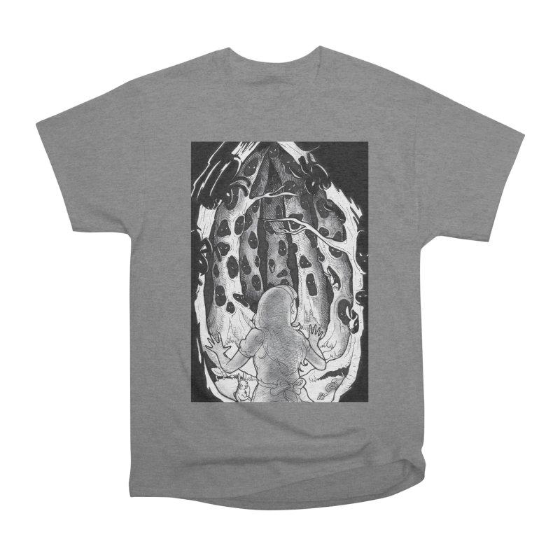 Teeming Men's Heavyweight T-Shirt by DEROSNEC's Art Shop