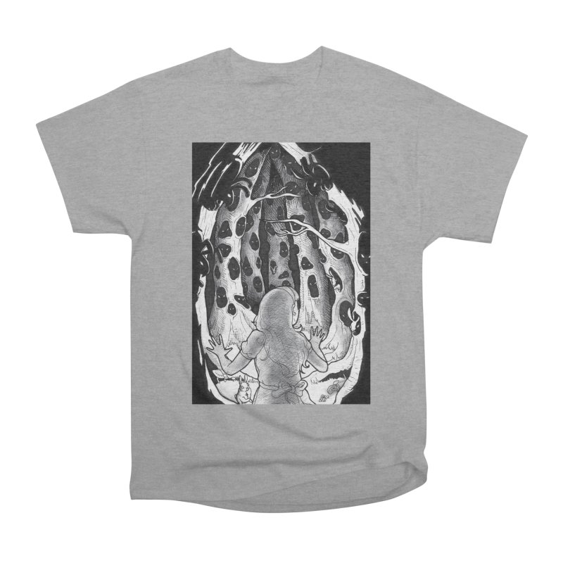 Teeming Men's Heavyweight T-Shirt by DEROSNEC's Art Shop
