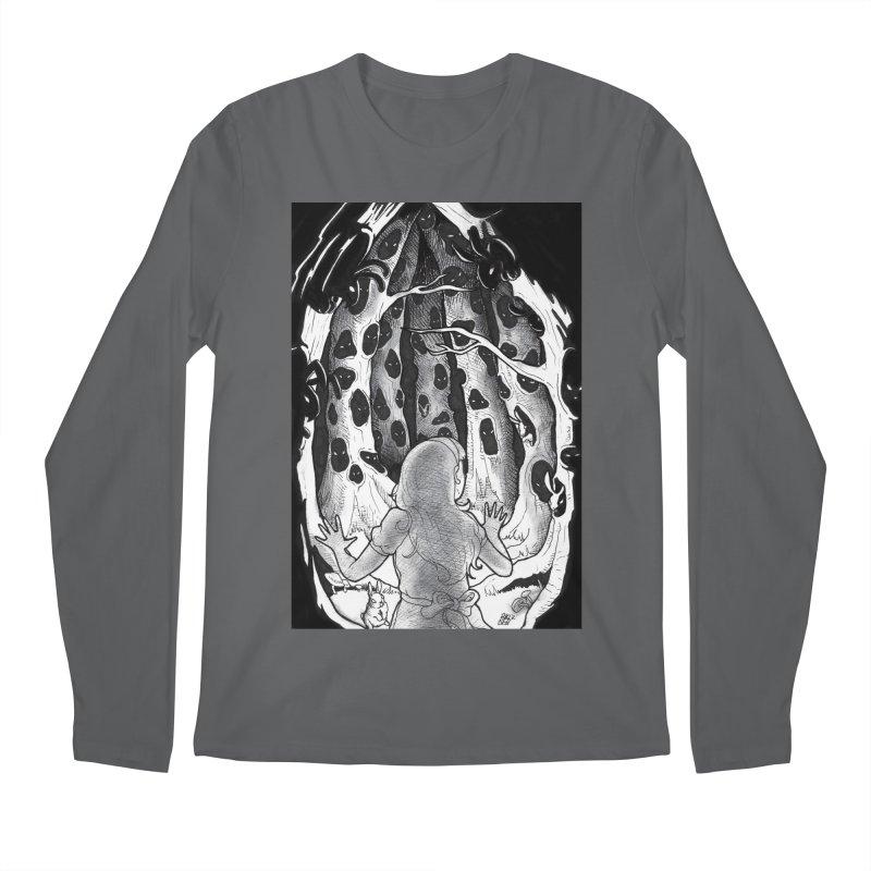 Teeming Men's Regular Longsleeve T-Shirt by DEROSNEC's Art Shop