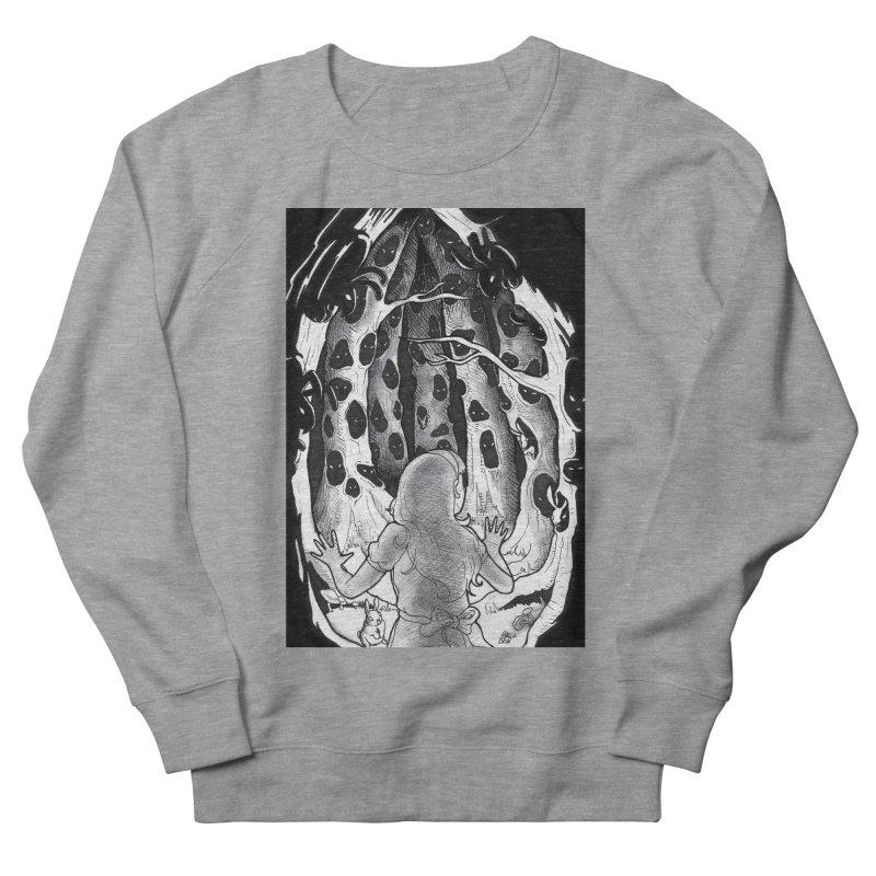 Teeming Women's French Terry Sweatshirt by DEROSNEC's Art Shop
