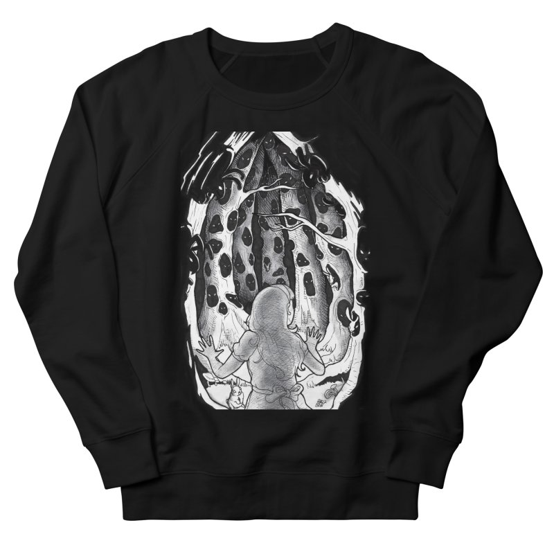Teeming Women's French Terry Sweatshirt by DEROSNEC's Art Shop