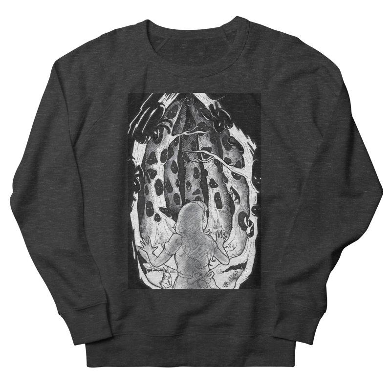 Teeming Men's French Terry Sweatshirt by DEROSNEC's Art Shop