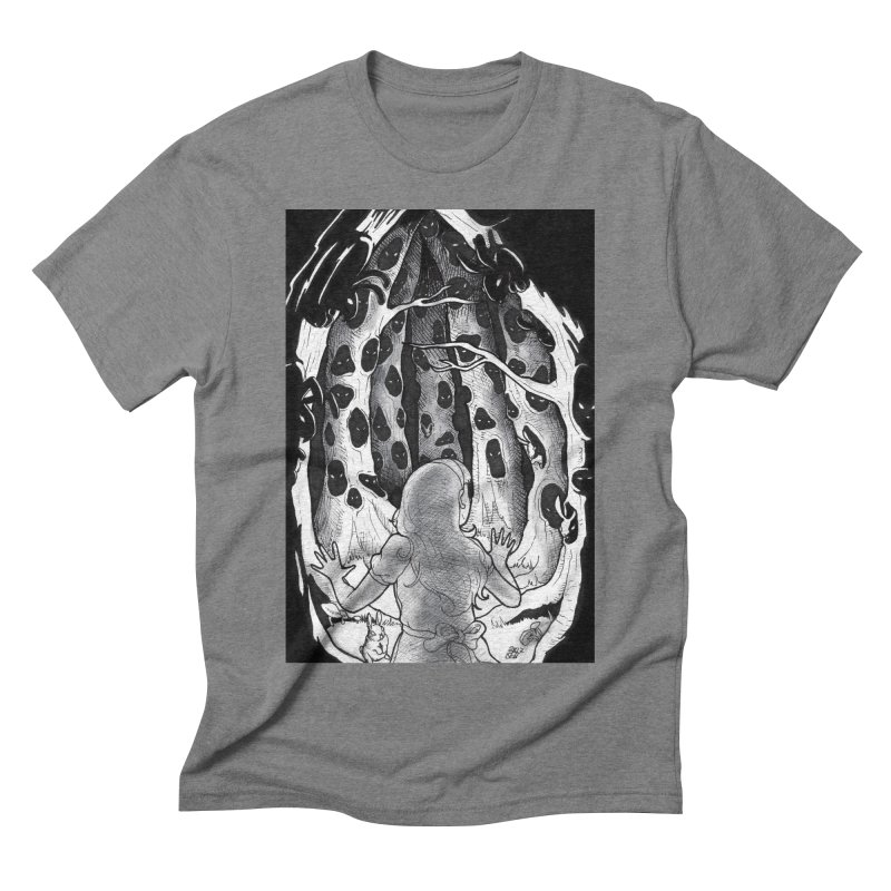Teeming Men's Triblend T-Shirt by DEROSNEC's Art Shop
