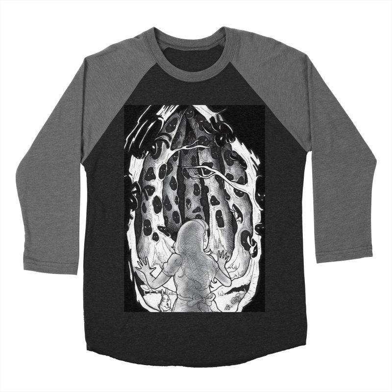Teeming Women's Baseball Triblend Longsleeve T-Shirt by DEROSNEC's Art Shop