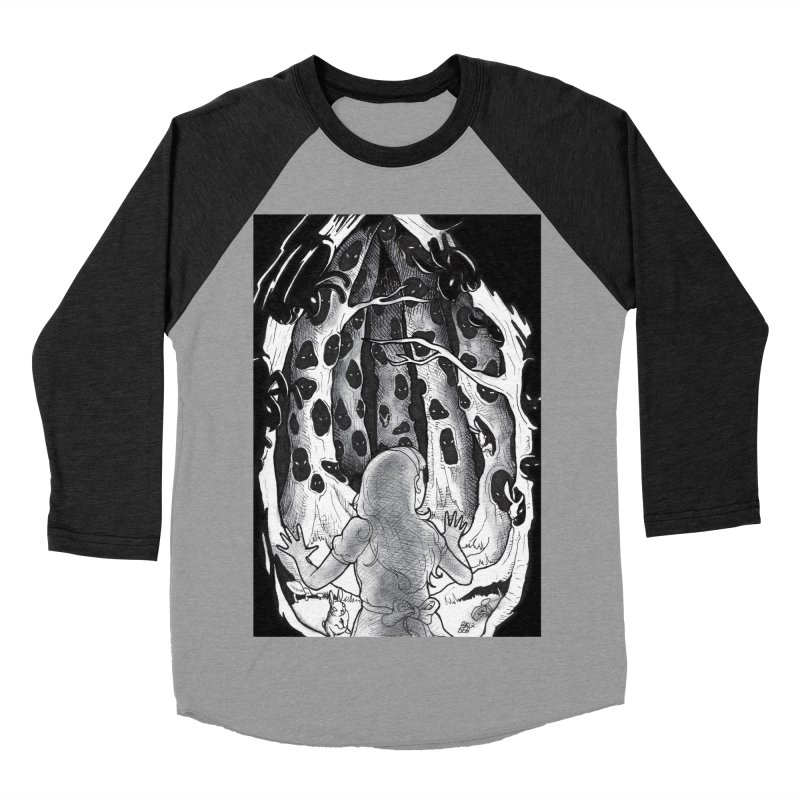 Teeming Women's Baseball Triblend Longsleeve T-Shirt by DEROSNEC's Art Shop
