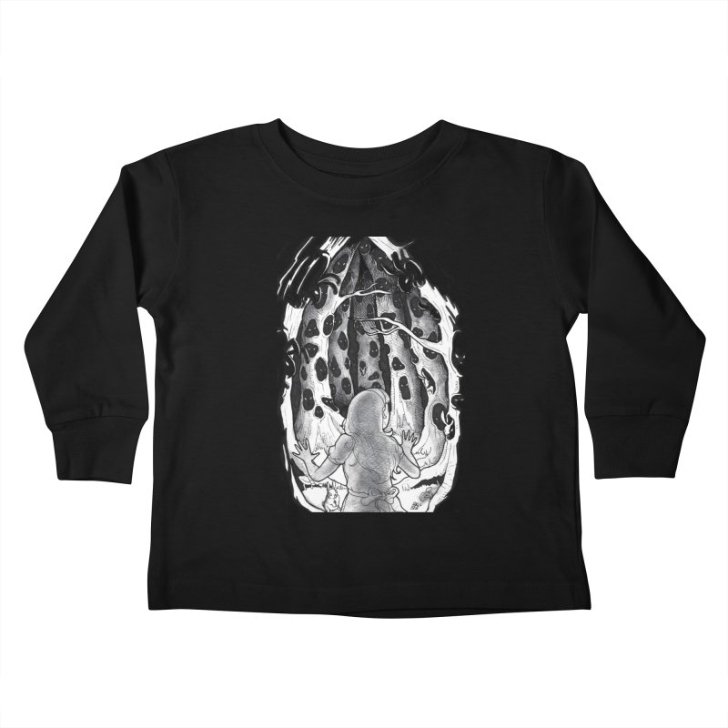Teeming Kids Toddler Longsleeve T-Shirt by DEROSNEC's Art Shop