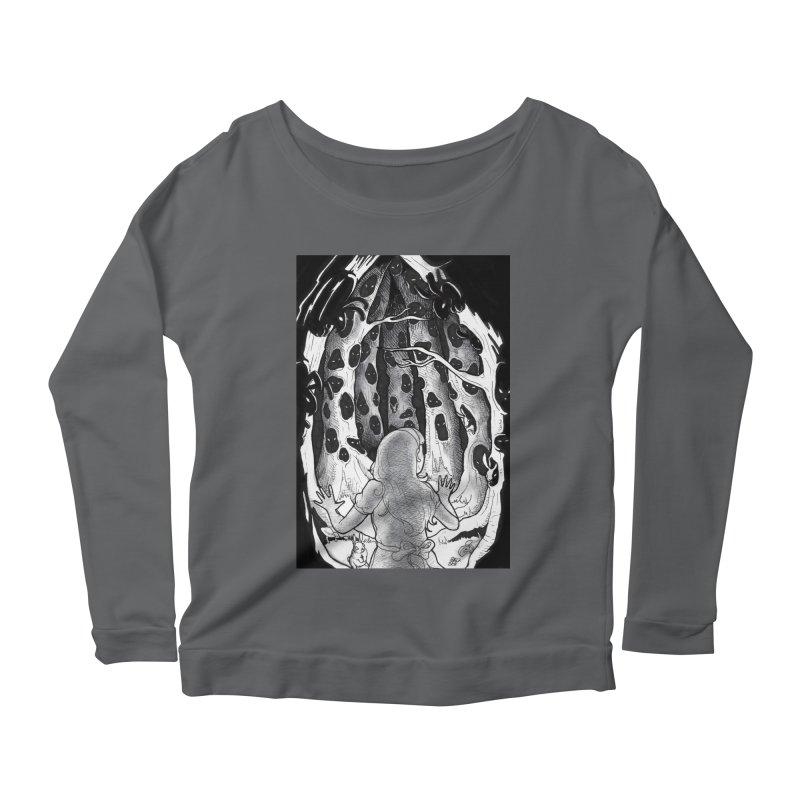 Teeming Women's Scoop Neck Longsleeve T-Shirt by DEROSNEC's Art Shop