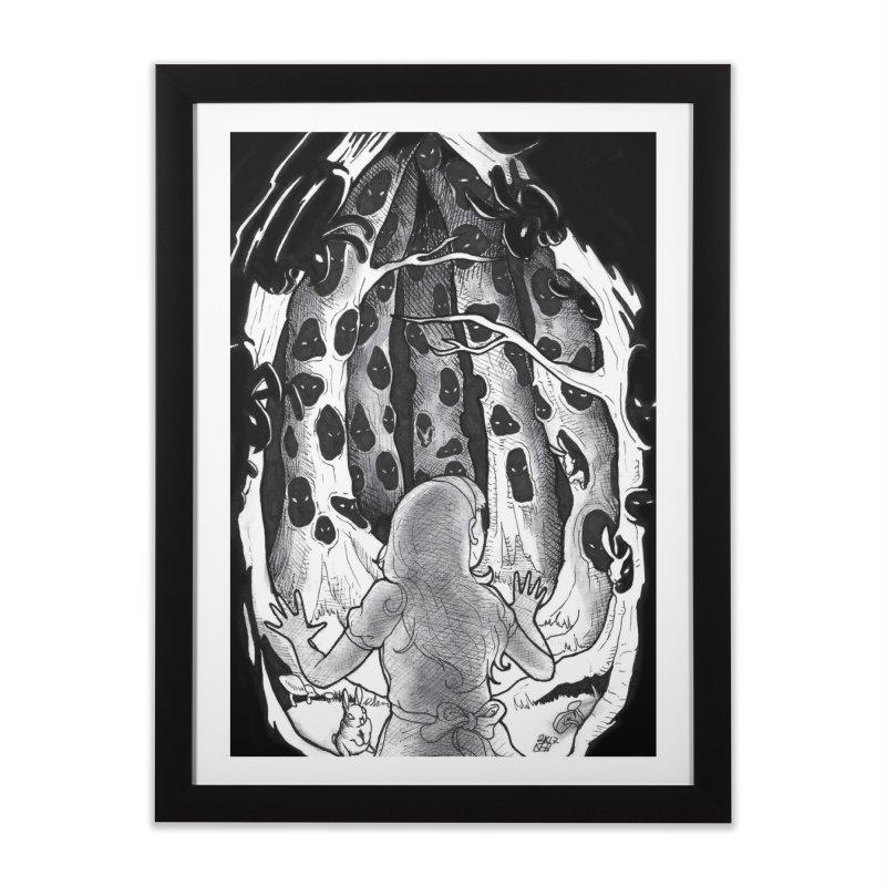 Teeming Home Framed Fine Art Print by DEROSNEC's Art Shop