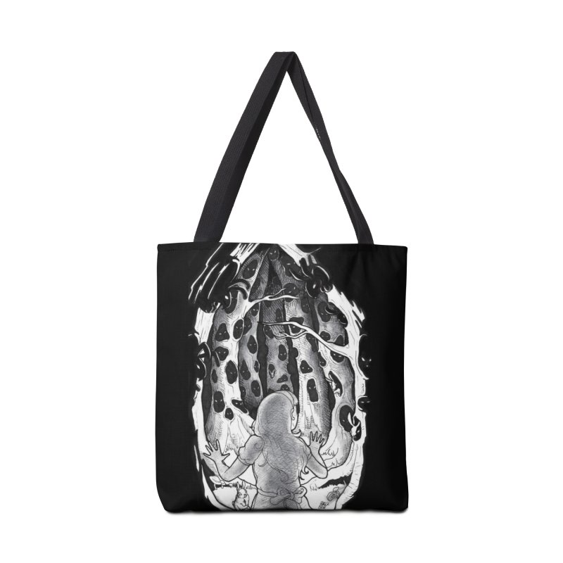 Teeming Accessories Tote Bag Bag by DEROSNEC's Art Shop