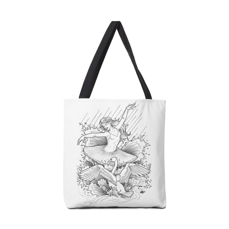 Graceful Accessories Tote Bag Bag by DEROSNEC's Art Shop