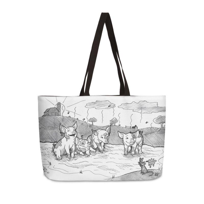 Filthy Accessories Weekender Bag Bag by DEROSNEC's Art Shop