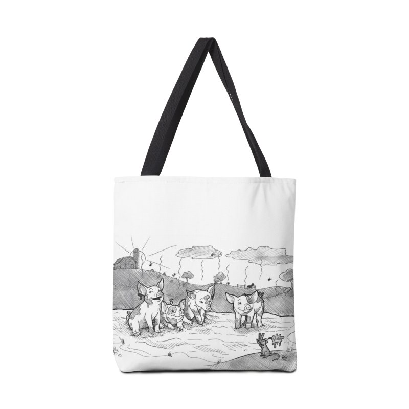 Filthy Accessories Tote Bag Bag by DEROSNEC's Art Shop