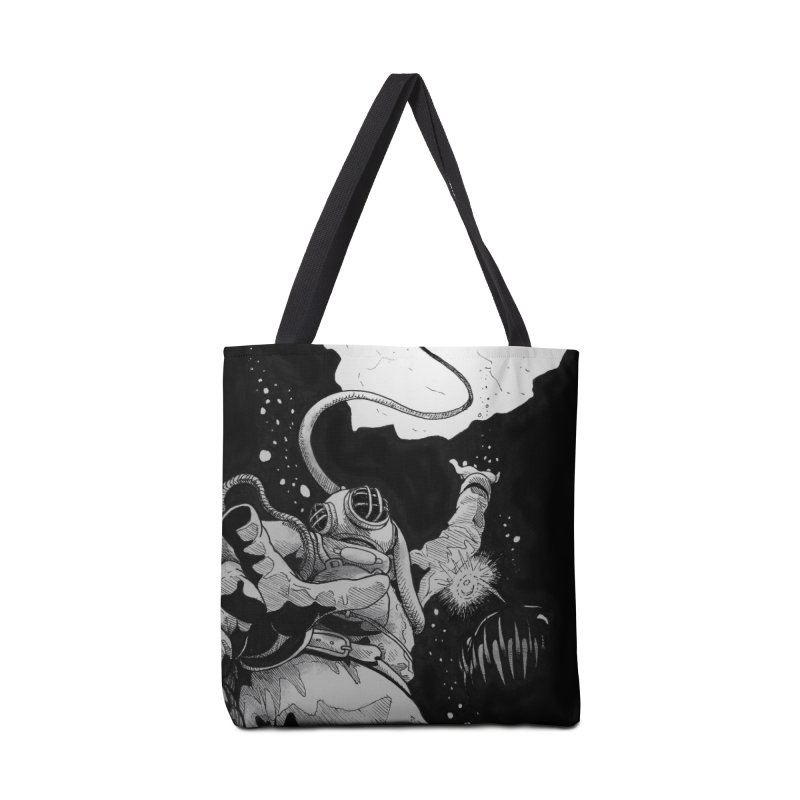 Deep Accessories Tote Bag Bag by DEROSNEC's Art Shop