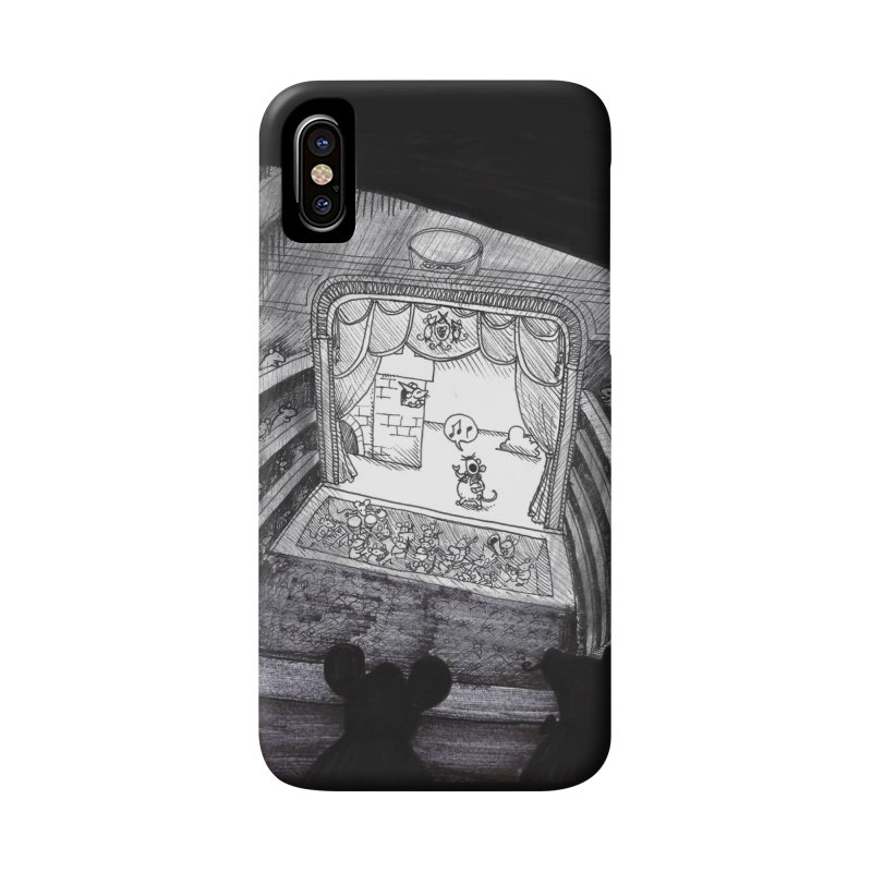 Mouse Opera Accessories Phone Case by DEROSNEC's Art Shop