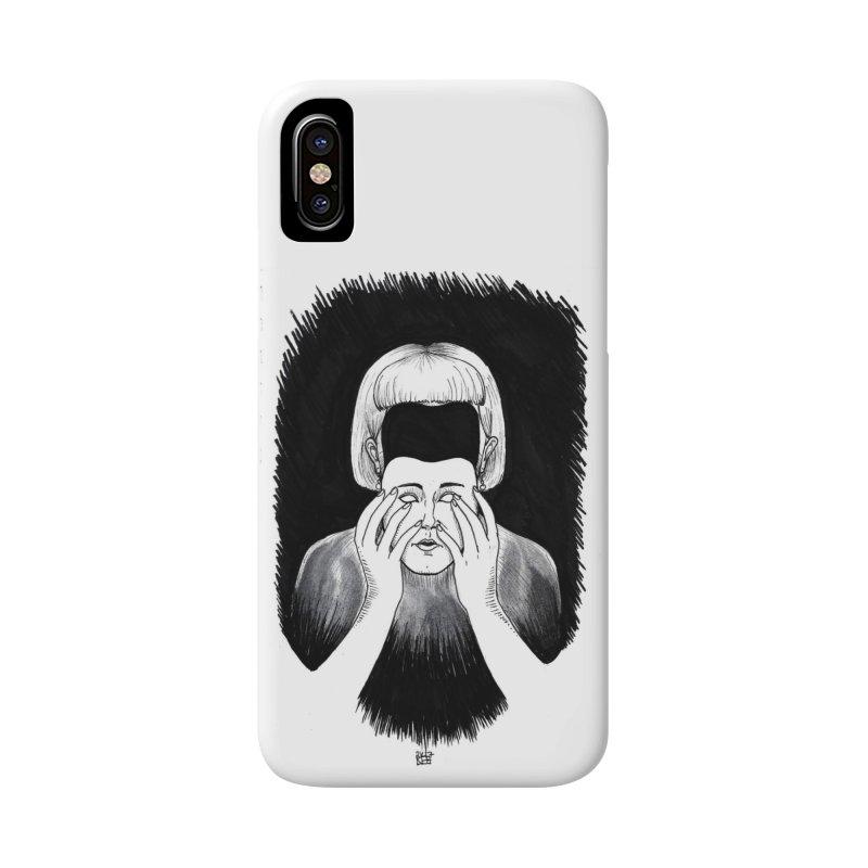 Mask Accessories Phone Case by DEROSNEC's Art Shop