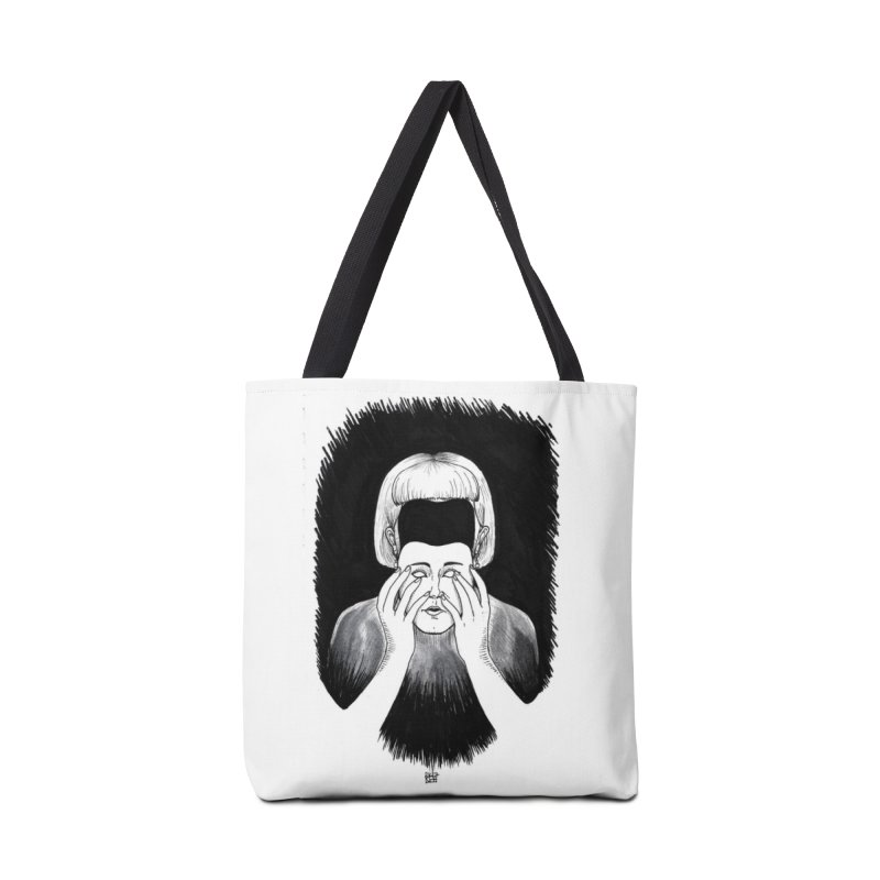 Mask Accessories Tote Bag Bag by DEROSNEC's Art Shop