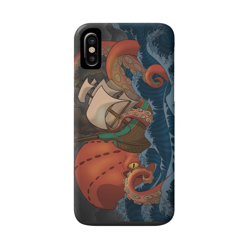 A Beast Arose From the Ocean Accessories Phone Case by DEROSNEC's Art Shop