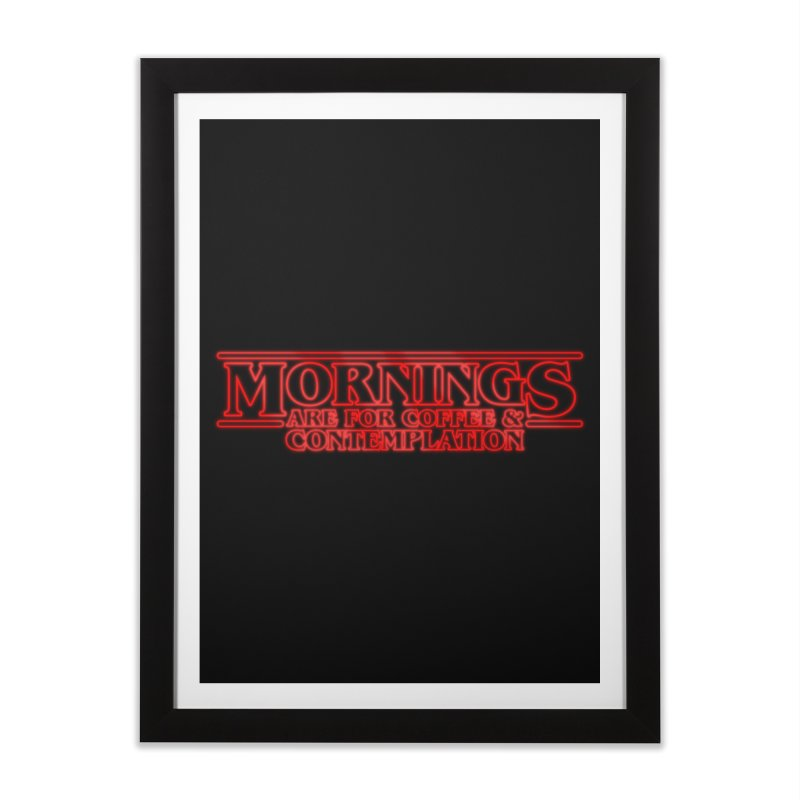 Morning, Stranger Home Framed Fine Art Print by derschwigg's Artist Shop