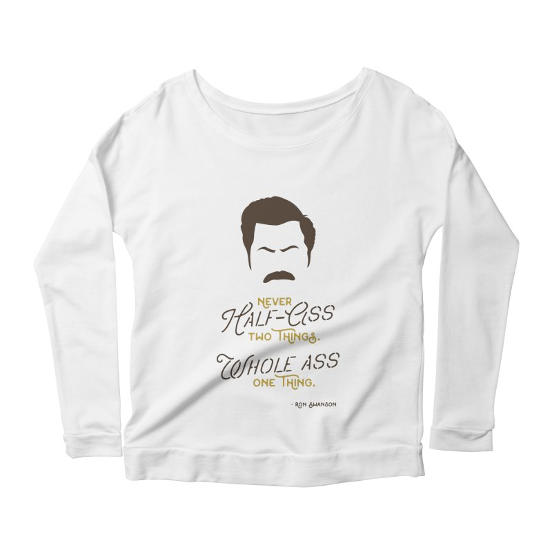 Ron Swanson   by derschwigg's Artist Shop