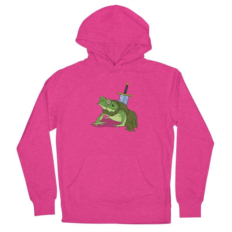 Frog! Women's Pullover Hoody by derschwigg's Artist Shop