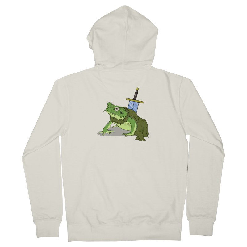 Frog! Women's Zip-Up Hoody by derschwigg's Artist Shop