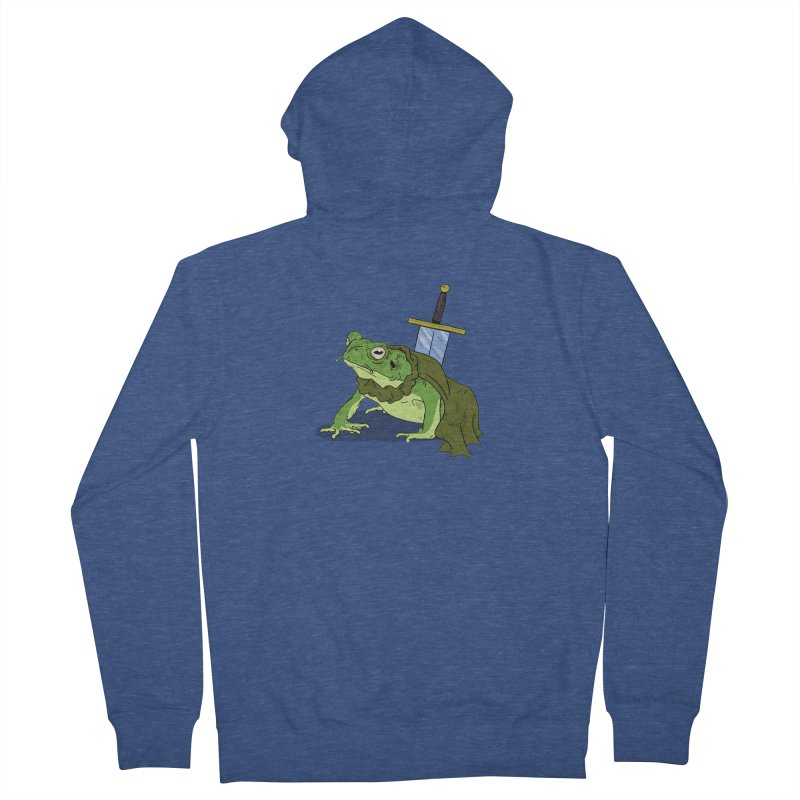 Frog! Men's Zip-Up Hoody by derschwigg's Artist Shop