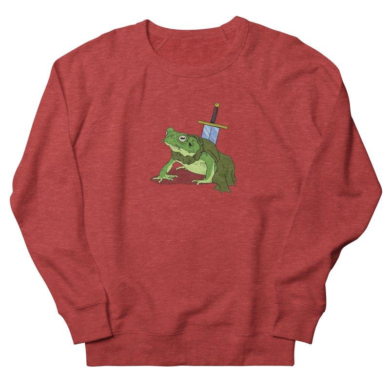 Frog! Women's Sweatshirt by derschwigg's Artist Shop