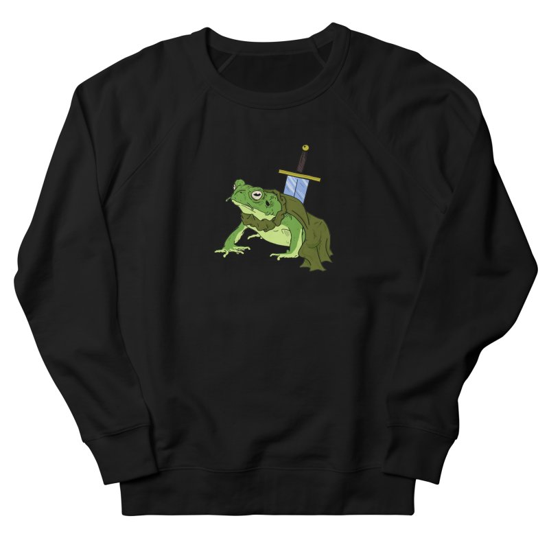 Frog! Women's Sweatshirt by derschwigg's Artist Shop