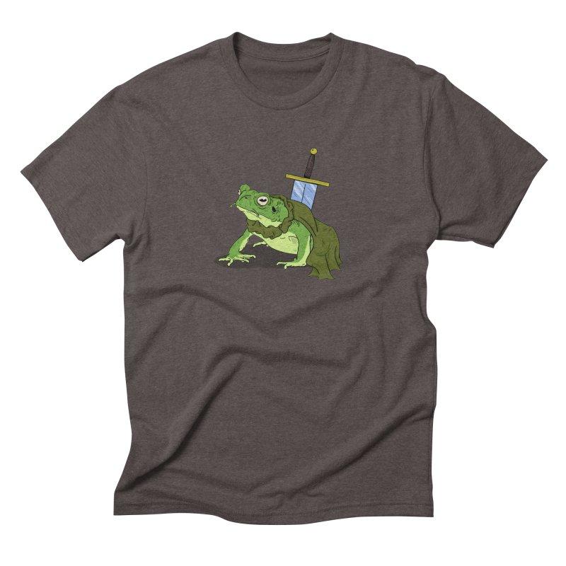 Frog! Men's Triblend T-shirt by derschwigg's Artist Shop