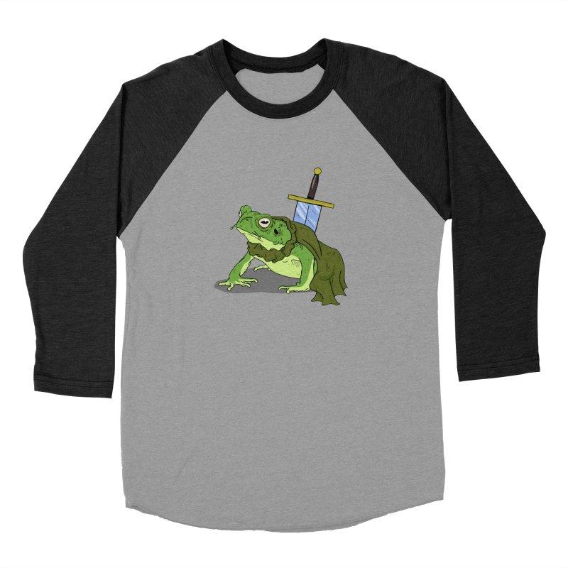 Frog! Women's Baseball Triblend T-Shirt by derschwigg's Artist Shop