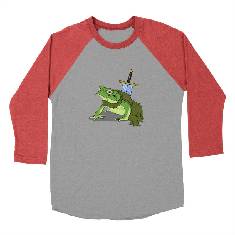 Frog! Men's Baseball Triblend T-Shirt by derschwigg's Artist Shop