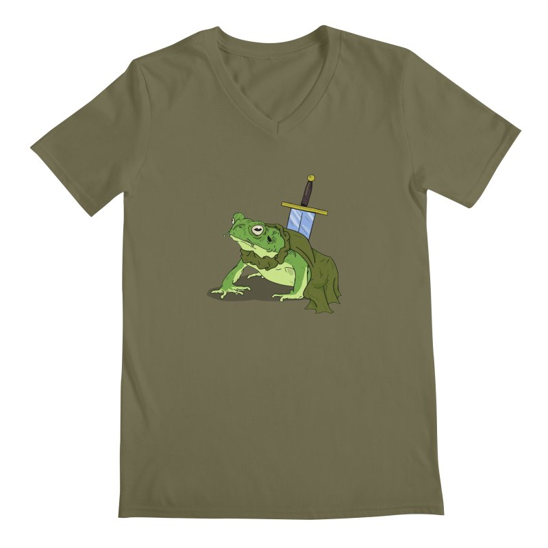 Frog! Men's V-Neck by derschwigg's Artist Shop