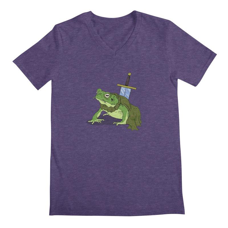 Frog! Men's V-Neck by derschwigg's Artist Shop