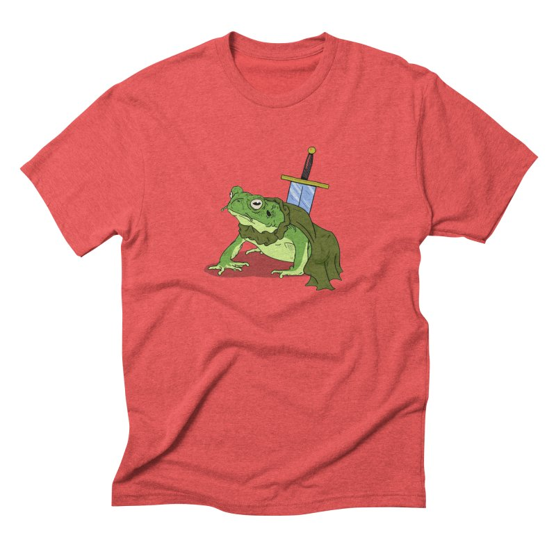 Frog! Men's Triblend T-shirt by derschwigg's Artist Shop