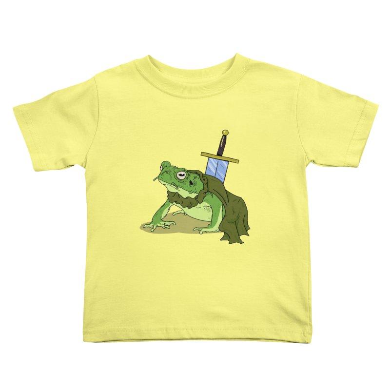 Frog! Kids Toddler T-Shirt by derschwigg's Artist Shop