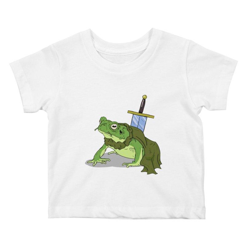 Frog! Kids Baby T-Shirt by derschwigg's Artist Shop