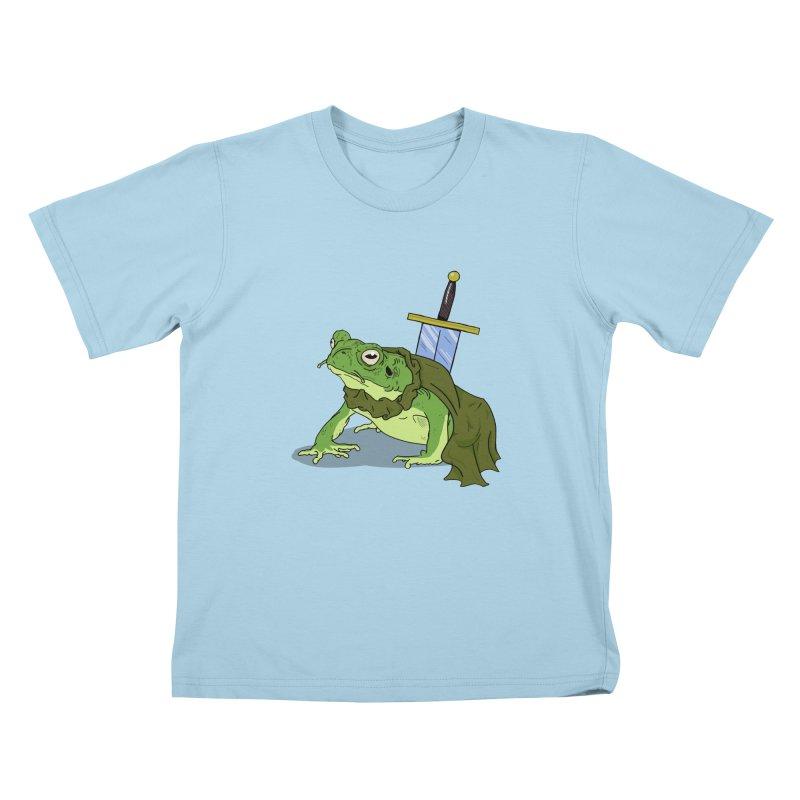 Frog! Kids T-shirt by derschwigg's Artist Shop