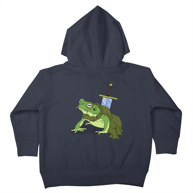 Frog! Kids Toddler Zip-Up Hoody by derschwigg's Artist Shop