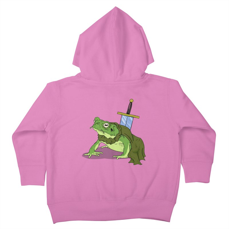 Frog! Kids Toddler Zip-Up Hoody by derschwigg's Artist Shop