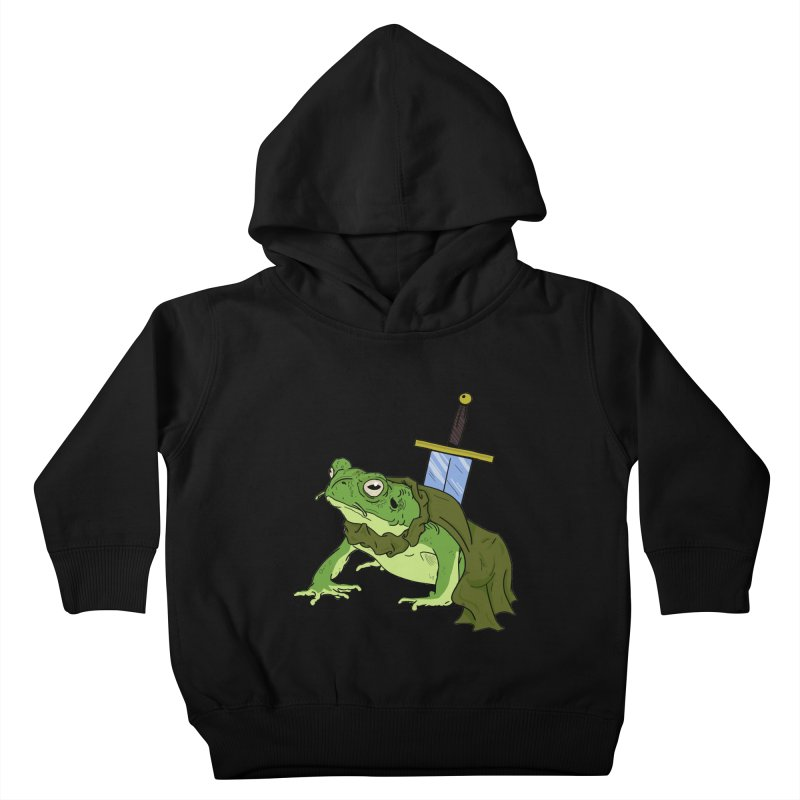 Frog! Kids Toddler Pullover Hoody by derschwigg's Artist Shop