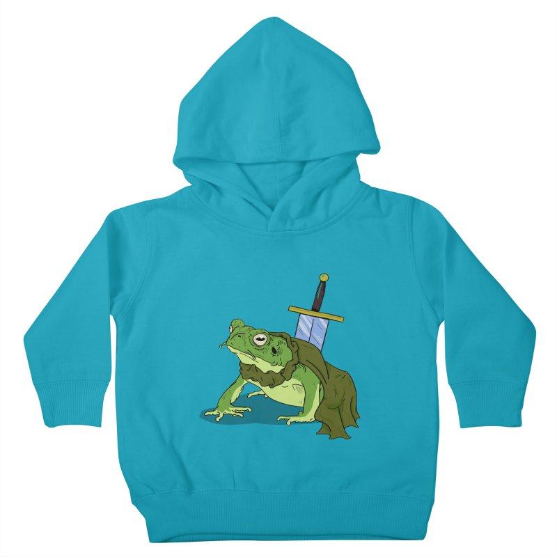 Frog! Kids Toddler Pullover Hoody by derschwigg's Artist Shop