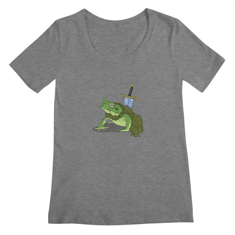 Frog! Women's Scoopneck by derschwigg's Artist Shop