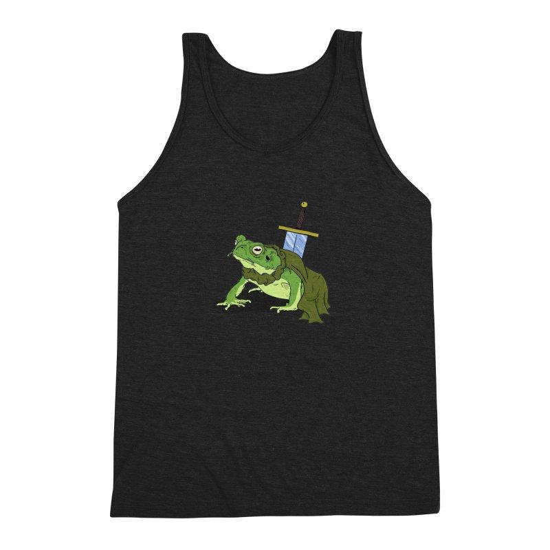 Frog! Men's Triblend Tank by derschwigg's Artist Shop