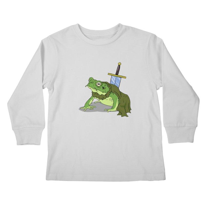 Frog! Kids Longsleeve T-Shirt by derschwigg's Artist Shop