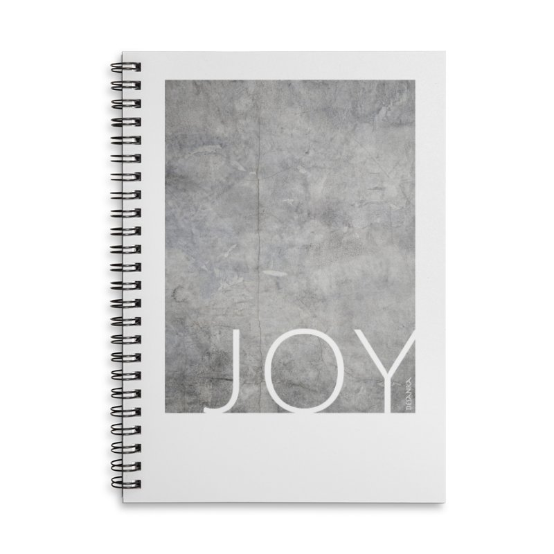 JOY // Concrete Foundation Accessories Notebook by Desanka Spirit's Artist Shop