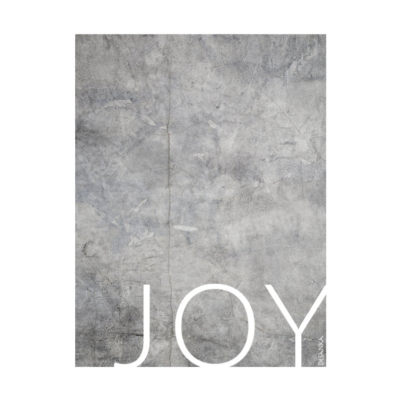 JOY // Concrete Foundation Accessories Water Bottle by Desanka Spirit's Artist Shop
