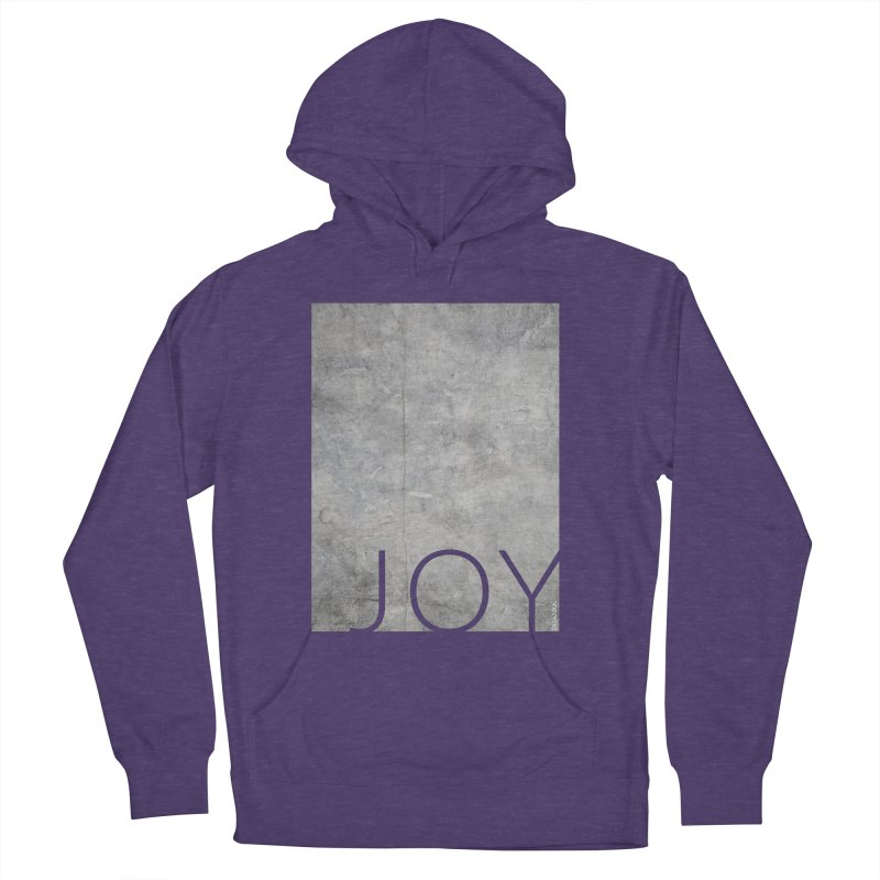 JOY // Concrete Foundation Women's French Terry Pullover Hoody by Desanka Spirit's Artist Shop