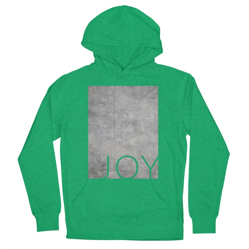 JOY // Concrete Foundation Men's French Terry Pullover Hoody by Desanka Spirit's Artist Shop