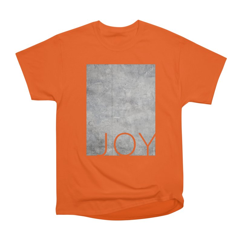 JOY // Concrete Foundation Men's Heavyweight T-Shirt by desankaspirit's Artist Shop