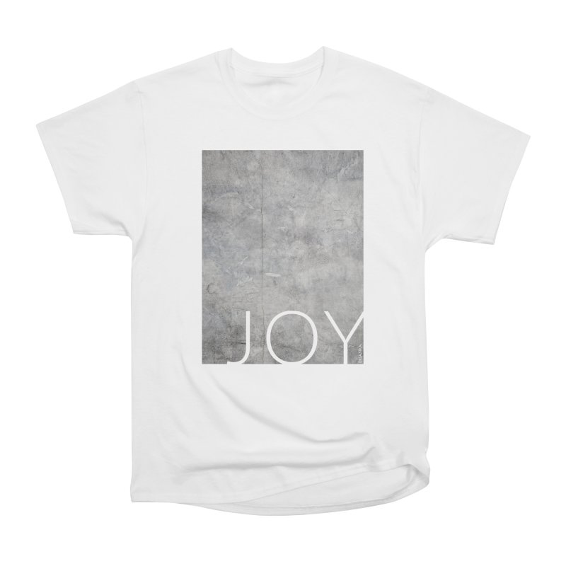 JOY // Concrete Foundation Women's Heavyweight Unisex T-Shirt by Desanka Spirit's Artist Shop